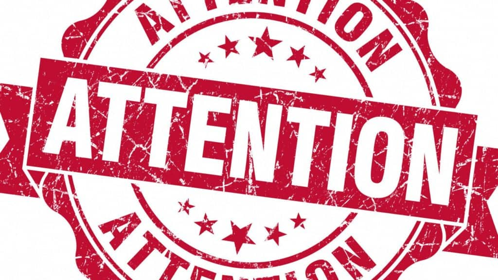 attention image