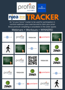 NJEA Workout to Win – starting July 20th
