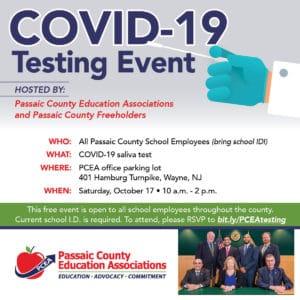 PCEA COVID-19 Testing Event
