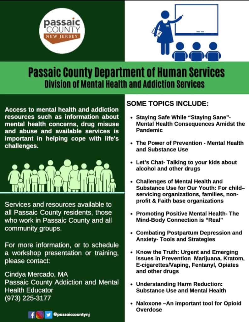 Passaic County Department On Human Services