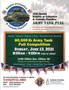 Veteran Tank Pull Event- June 13, 2021