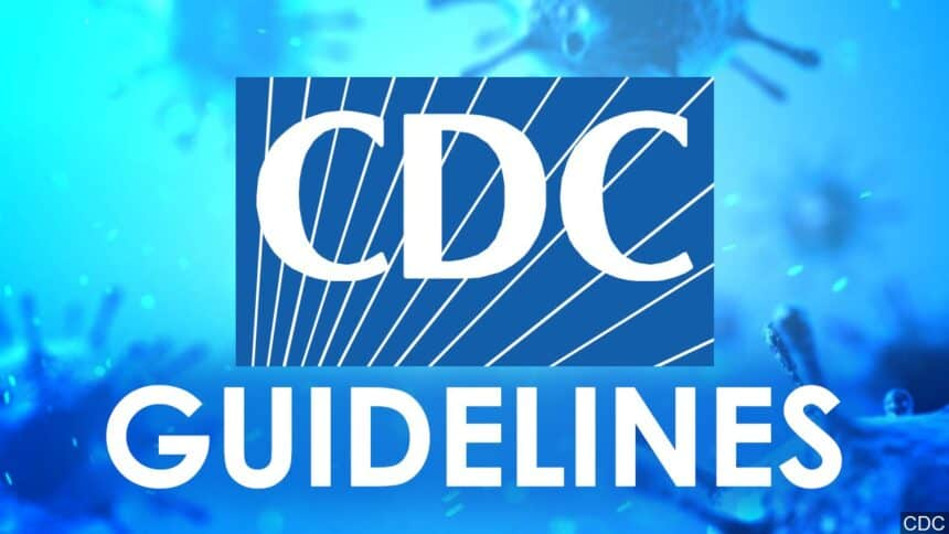 cdc guideline